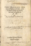 Arthur Brooke's Romeus and Juliet