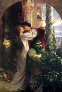 Frank Dicksee, Romeo and Juliet (1884)