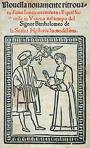 """Da Porto's Novel """"Newly found story of two noble lovers""""-1530"""