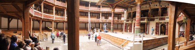 The Globe Theatre Panorama